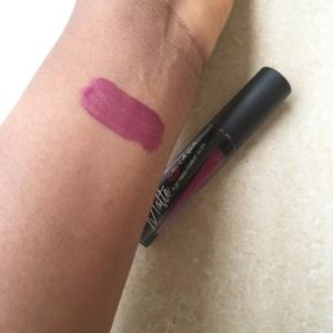 L.A girl matte lipstick rebel.